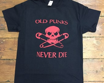 OLD PUNKS never die T-shirt
