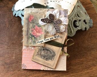 Get Well Card - Friendship Card
