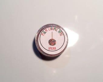 M & M Caramel Apple Lipscrub