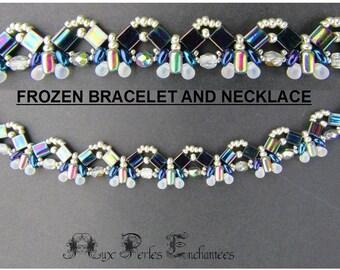 Beading pattern tutorial beading bracelet and necklace tutorial beading tutorial beads, pattern beads, bracelet and necklace