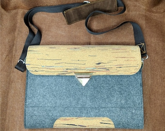 Mens briefcase,n Macbook pro case, Shoulder bag , Macbook air sleeve, Macbook air case 13 inch, 15 inch laptop sleeve, Christmas gifts, B5D1