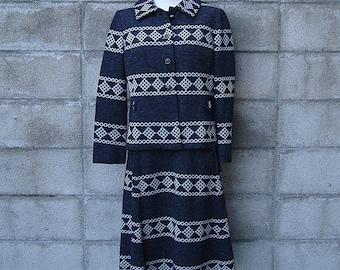 Vintage 1960s Imagnin Knit Dress and Jacket