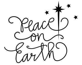 PEACE ON EARTH Decal