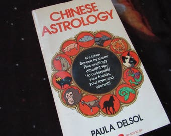 70s Chinese Astrology Vintage Book