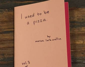 I Used To Be A Pizza zine