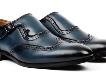 Men's Single Monk Strap Dress Shoes