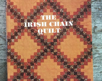 Vintage 1986 The Irish Chain Quilt Book by Blanche Young Helen Young Frost