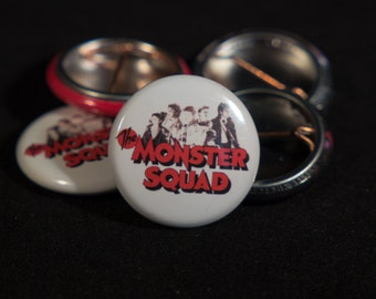 The Monster Squad | LOGO w/KIDS | 1-inch Buttons |