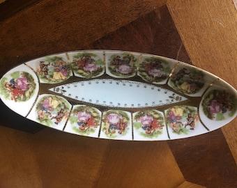 Original Arnartcreation Japan Oval Dish