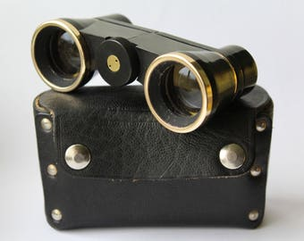Soviet theatre binoculars, Vintage theatre glasses, Vintage Opera Binoculars , Soviet Opera, Vintage binoculars , Opera glasses