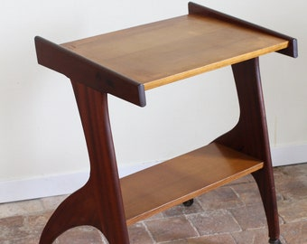 Serving, table, from the 50/60s mahogany