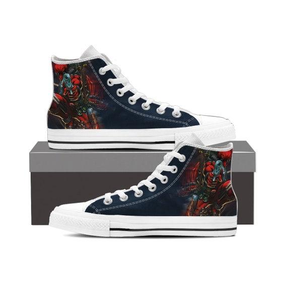 a717b15305e833 Deadpool Shoes America Deadpool Custom Deadpool High Wade Gift Wilson  Converse Shoes Marvel Custom Top Converse ...
