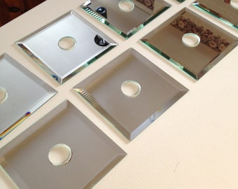Fixture mirror glass (eight pieces)