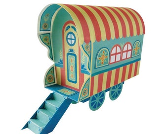 Gypsy Wagon Printable