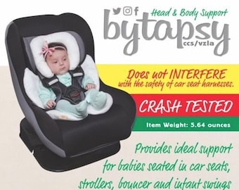 Bytapsy Infant Snuzzler Support for Car Seats and Strollers