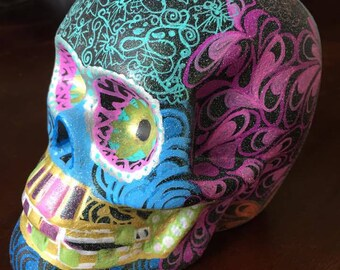 Hand decorated Sugar Skulls