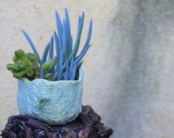 Ceramic planter. Ceramic planter pot. Succulent planter. Plant pot. Cacti pot. Pottery plant holder. Hand built ceramics. Ceramic handmade.