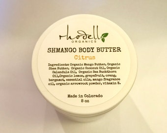 ORGNIC Body Butter, Body lotion, Body Cream, Moisturizer, Dry Skin, Natural Lotion