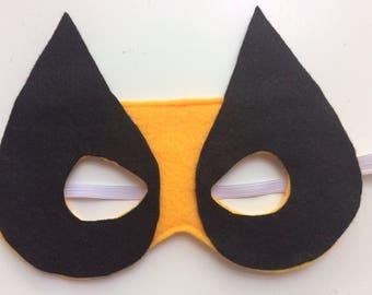 Felt Wolverine mask - Felt superhero masks - wolverine costume - Halloween mask