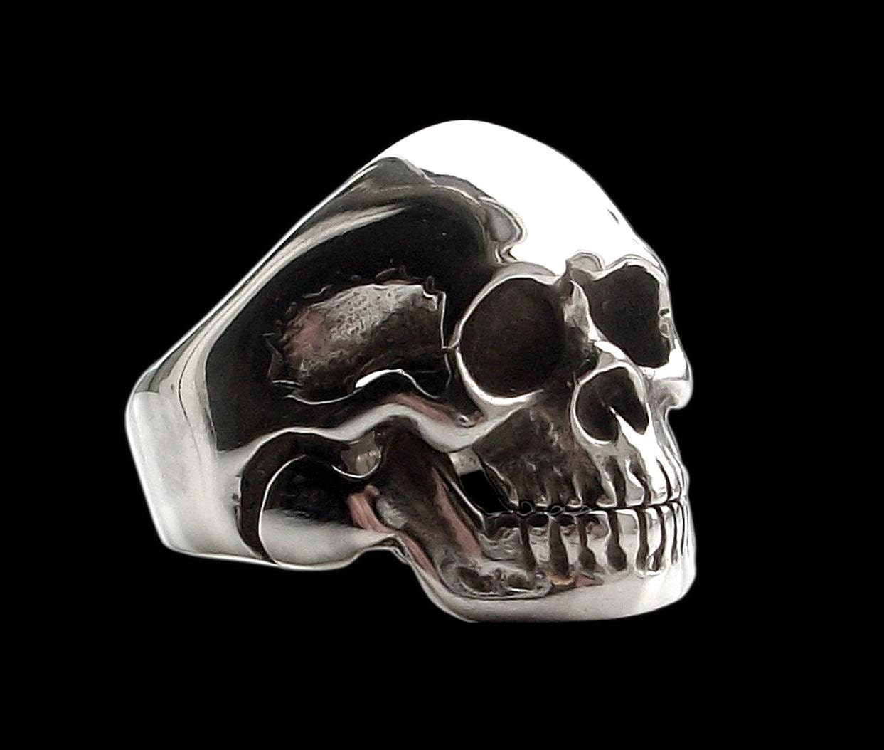 for pin stainless rings steel jiayiqi ring gold silver skeleton color party men skull design