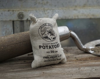 Dolls House Miniature Sack of Potatoes