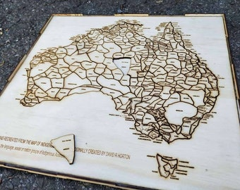 Indigenous Australian Map Puzzle The Aboriginal Language Map