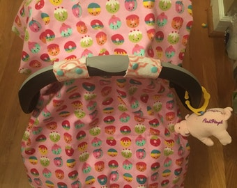 Happy Donut Car Seat and Stroller Cover