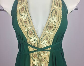 Forrest Green Dress