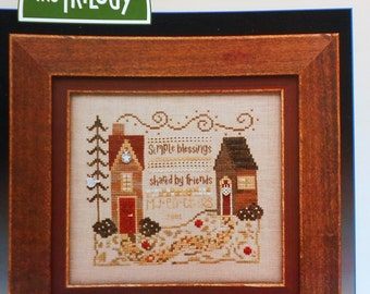 Cross Stitch Pattern | The Trilogy SIMPLE BLESSINGS SAMPLER - Counted Cross Stitch Pattern Chart