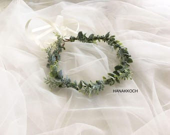 Hair Vine Flower Crown / Flower Crown / Hair Vine / Floral Crown / Flower Girls / Bridesmaids / Rustic Wedding / Garden Wedding / Bohemian