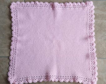 Princess Lace Edged Baby Blanket