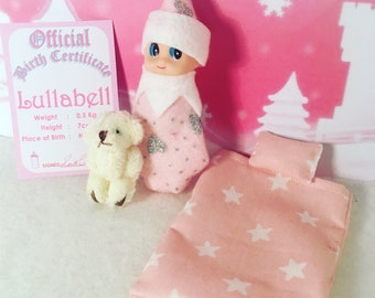 Baby Elf Lullabell The Shelf Sitter Doll With Accessories