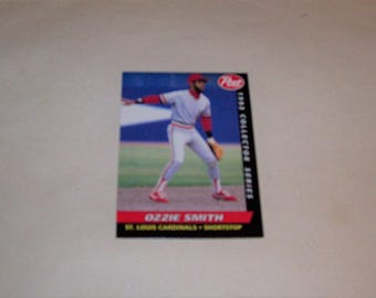 Vintage 1993 Post Ozzie Smith Baseball Card