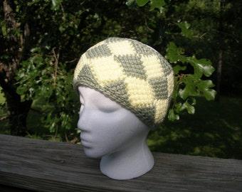 PDF Crochet Pattern for Entrelac Headband