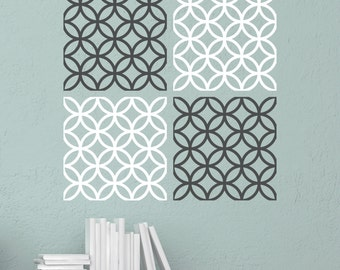 Modern Squares - Vinyl Wall Decal