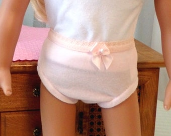Pink Doll Panties / 18 Inch Doll Clothes / Doll Accessories / Doll Clothes / Doll Clothing / Fits American Girl Doll - 2512P