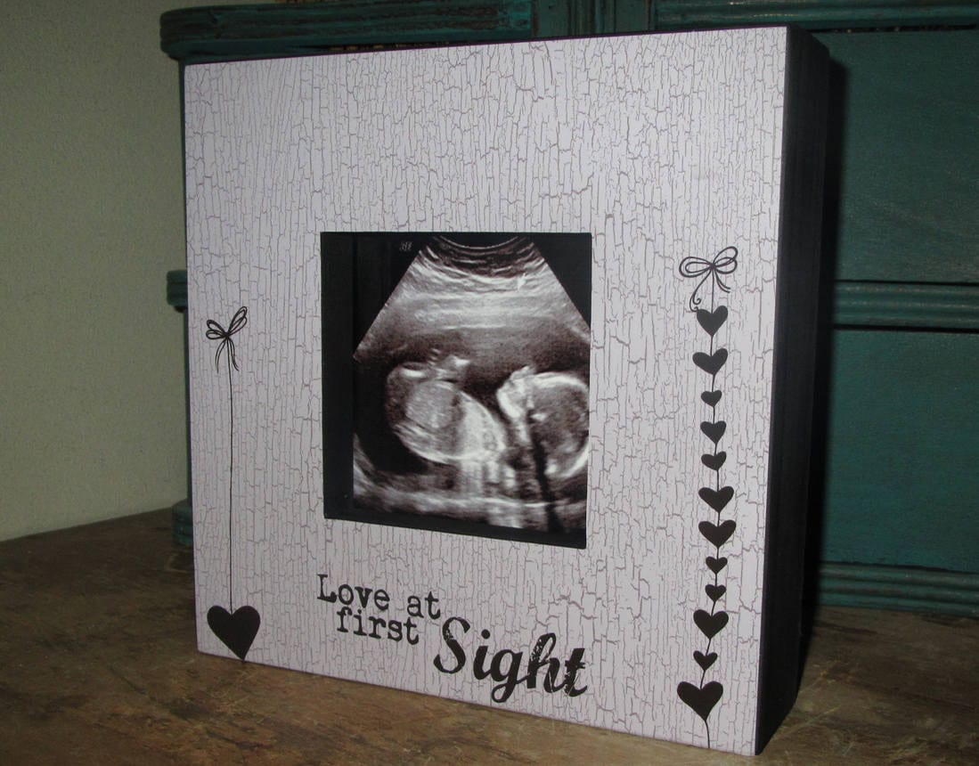 Love at first sight picture board frame new baby ultra sound 2700 jeuxipadfo Images