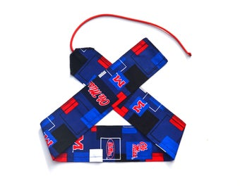 Ole Miss - Weight Lifting Wrist Wraps