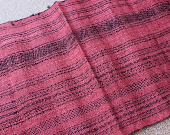 By Yard Vintage Hmong Striped Fabric
