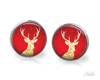 Christmas Earrings Winter-2