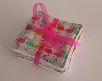 Pink flamingos wipes