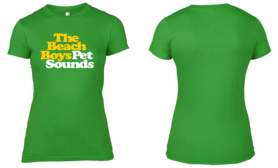 the beach boys pet sounds womens cotton printed t shirt