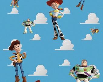 Toy Story cotton poplin fabric