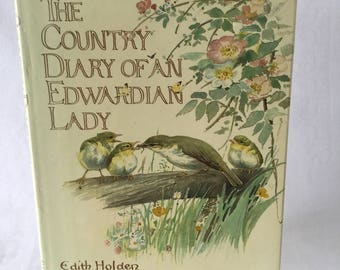 Vintage Book The Country Diary of an Edwardian Lady by Edith Holden