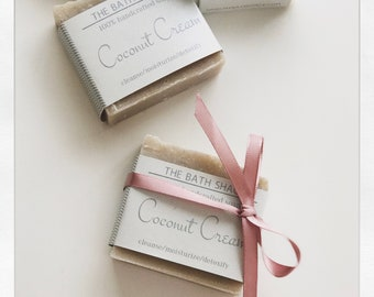 Coconut Cream Moisturizing Soap Bar 4 oz