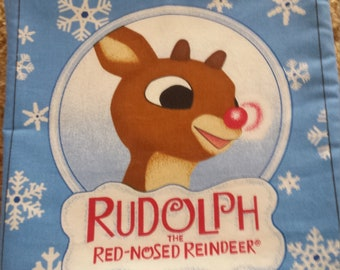 Rudolph the Red Nosed Reindeer fabric book
