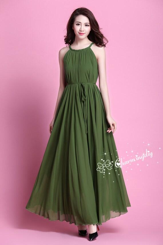 Multa Hierba Verde Vestidos De Dama Ideas Ornamento Elaboración ...