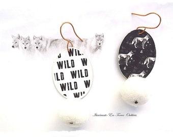 """Earrings """"Wild soul"""""""