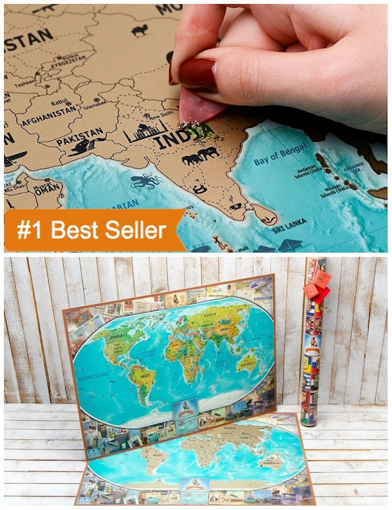 Travel map poster world map poster wall map world world travel map poster world map poster wall map world world map world map scratch world map print world map wall art gold world map trav gumiabroncs Image collections