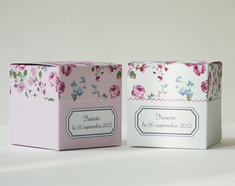 12 Liberty paper boxes to personalize